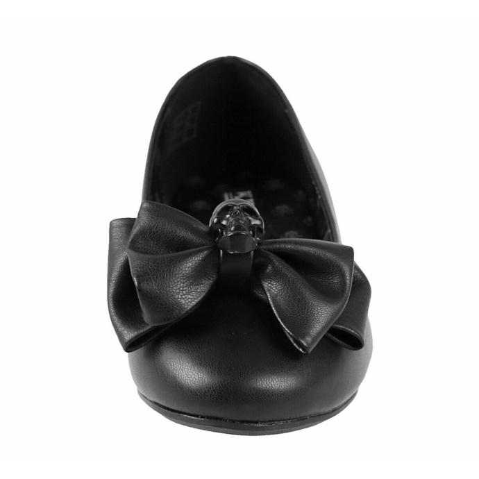boty dámské (baleríny) KILLSTAR - Bow Down Ballet Flats - Black