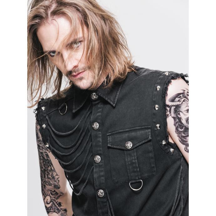 košile pánská bez rukávů DEVIL FASHION