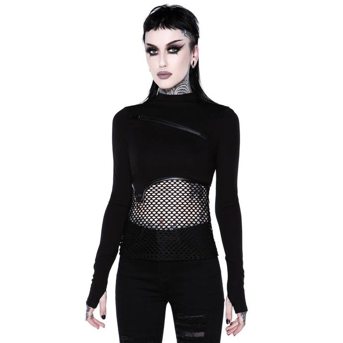 tričko dámské s dlouhým rukávem (top) KILLSTAR - SIndi Fishnet Top