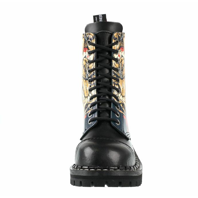 boty STEADY´S - 10 dírkové - Skull