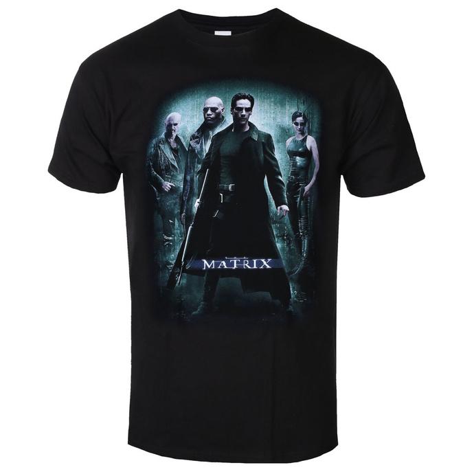 tričko pánské Matrix - GrouP Poster - Black