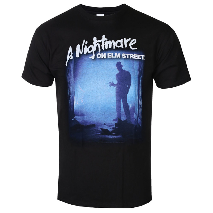 tričko pánské Nightmare On Elm Street - Freddy Is Waiting - Black