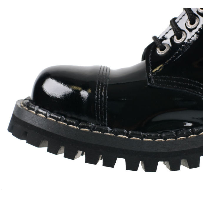 boty STEADY´S - 10 dírkové - Glossy black