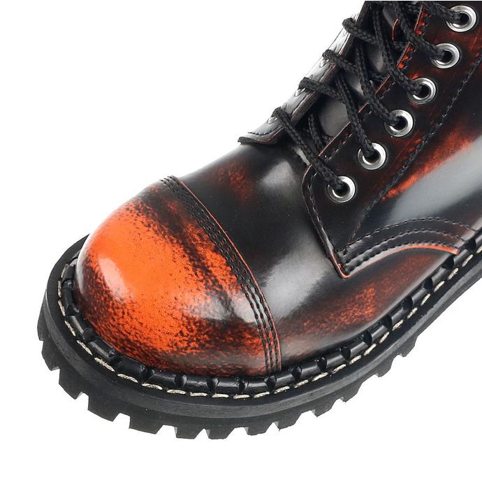 boty STEADY´S - 10 dírkové - Orange