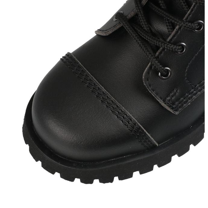 boty NEVERMIND - 10 dírkové - Vegan - Black Synthetic