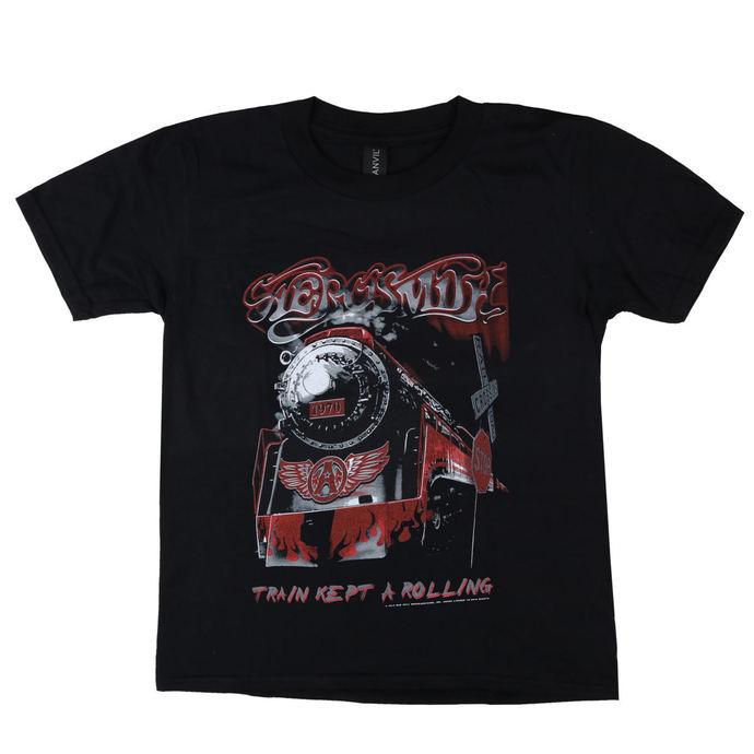 tričko dětské Aerosmith - Train kept a going - LOW FREQUENCY