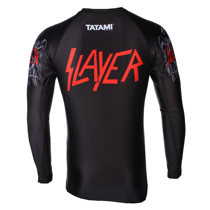 tričko pánské s dlouhým rukávem (technické) TATAMI - Slayer - Eagle - Rash Guard