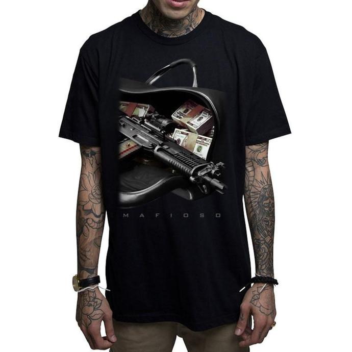 tričko pánské MAFIOSO - Bag Boy - BLK