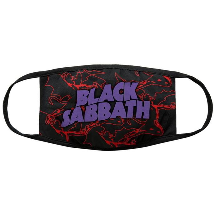 rouška (maska) Black Sabbath - Red Thunder V2 - ROCK OFF