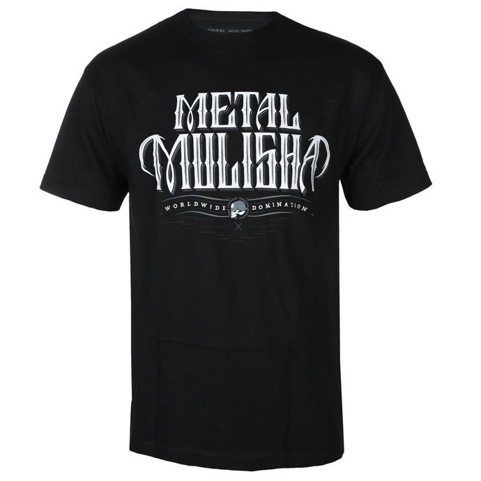 tričko pánské METAL MULISHA - GAUNTLET - BLK, METAL MULISHA