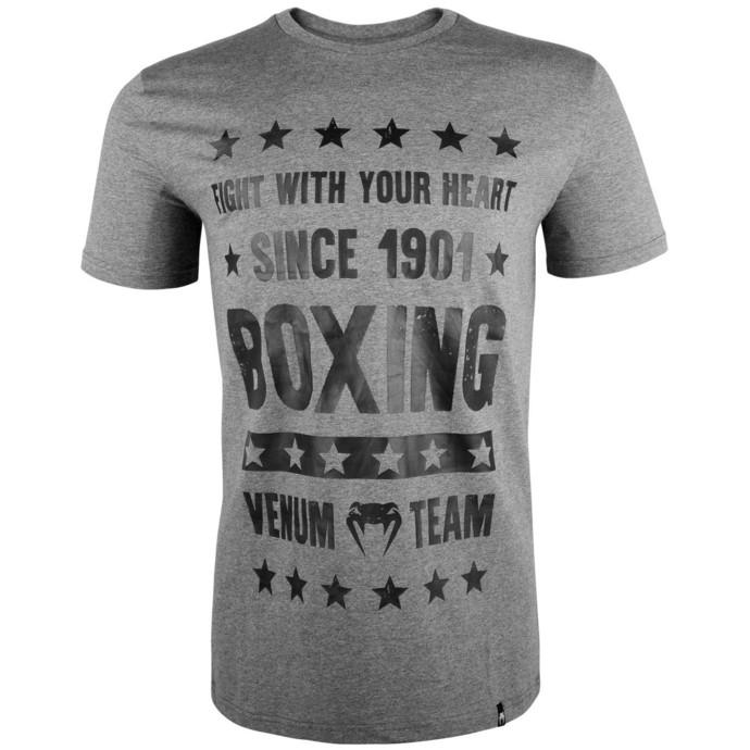 tričko pánské VENUM - Boxing Origins - Heather Grey