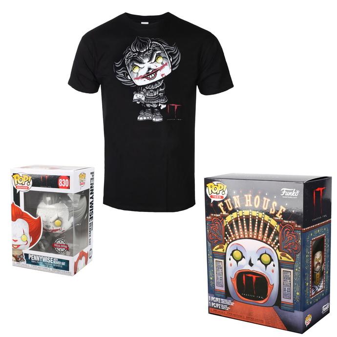 set (figurka+tričko) TO - Stephen Kings - POP! - Pennywise
