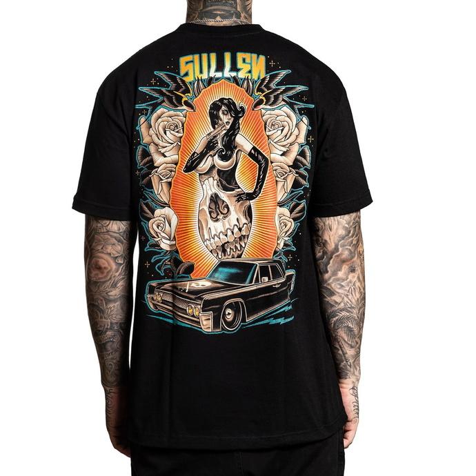 tričko pánské SULLEN - FEMME FATALE - BLACK