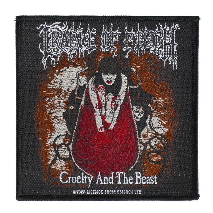 nášivka Cradle Of Filth - Cruelty And The Beast - RAZAMATAZ