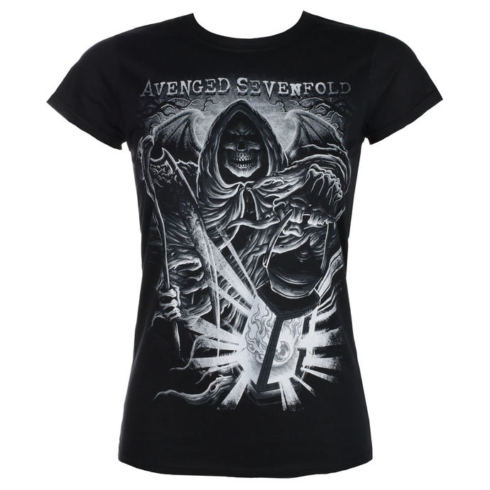 tričko dámské AVENGED SEVENFOLD - REAPER LANTERN - PLASTIC HEAD