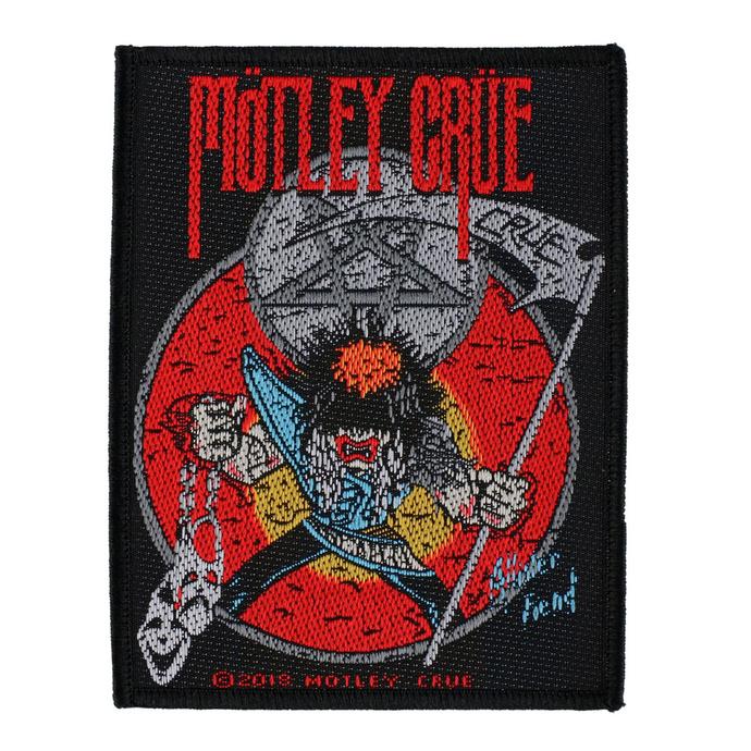 nášivka Mötley Crüe - Allister Fiend - RAZAMATAZ