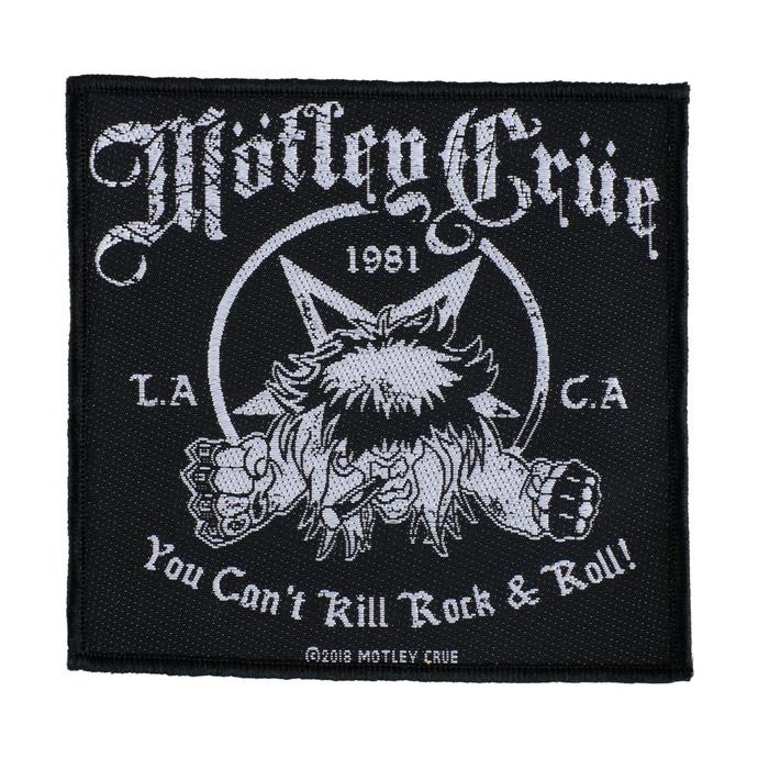nášivka Mötley Crüe - You Can't Kill Rock N Roll - RAZAMATAZ