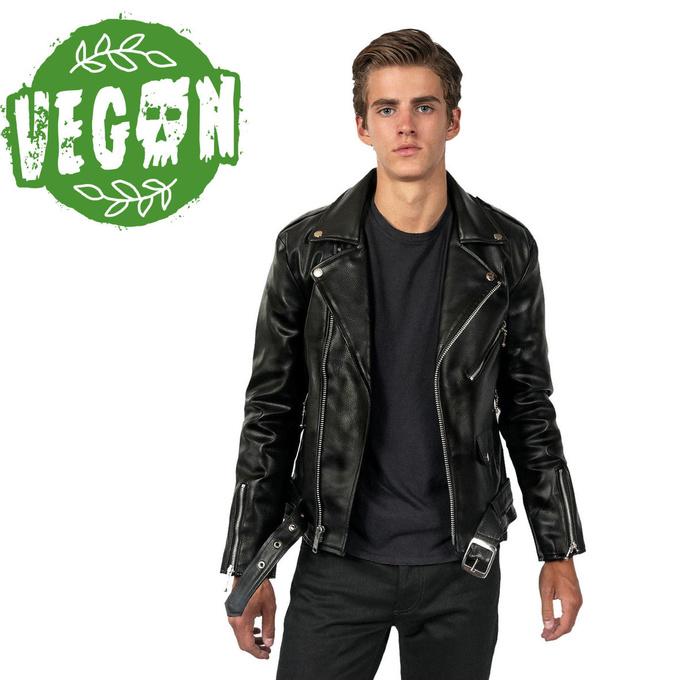 bunda (křivák) pánská STRAIGHT TO HELL - Vegan Commando II