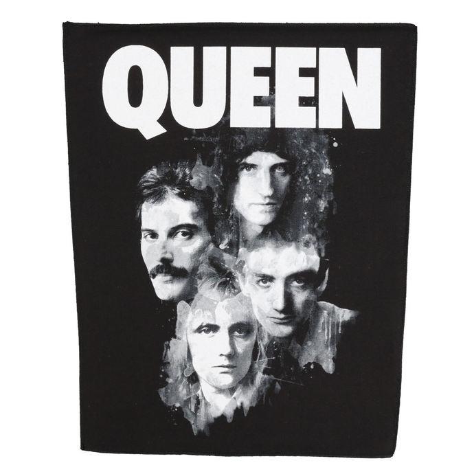 nášivka velká Queen - Faces - RAZAMATAZ