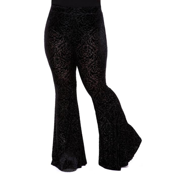 kalhoty dámské (legíny) KILLSTAR - Velora Bell Bottoms
