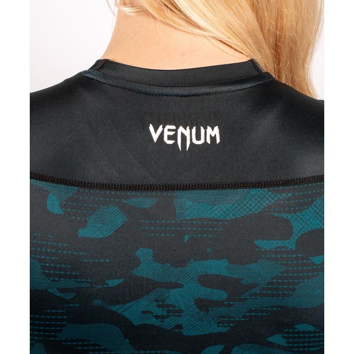 tričko dámské s dlouhým rukávem (termo) VENUM - Defender - Rashguard - Black/Green