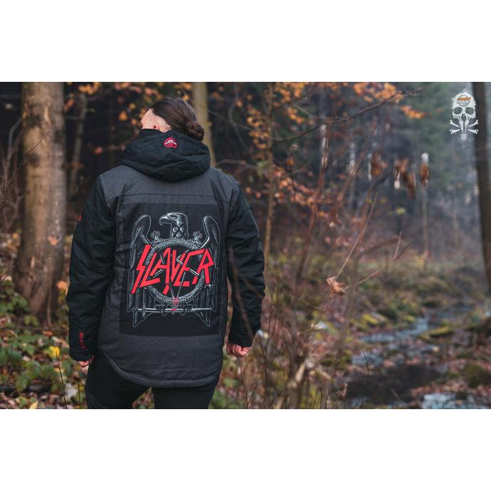 bunda pánská Slayer - Insulated - Black Denim - 686