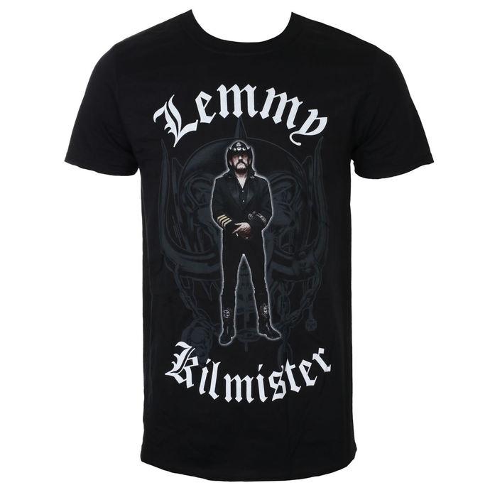 tričko pánské Lemmy Kilmister - Memorial Statue - Black - ROCK OFF
