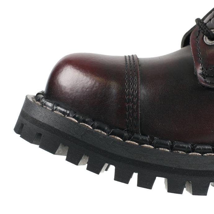 boty STEADY´S - 10 dírkové - Bordo black