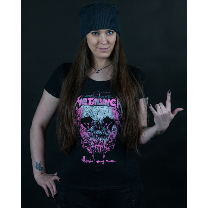 tričko dámské Metallica - Wherever I May Roam - Black