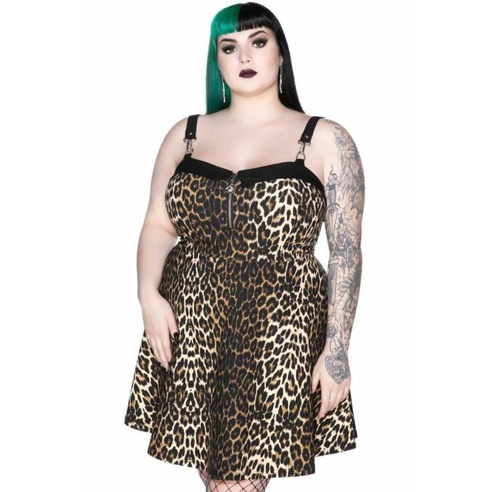 šaty dámské KILLSTAR - Wild Side - LEO