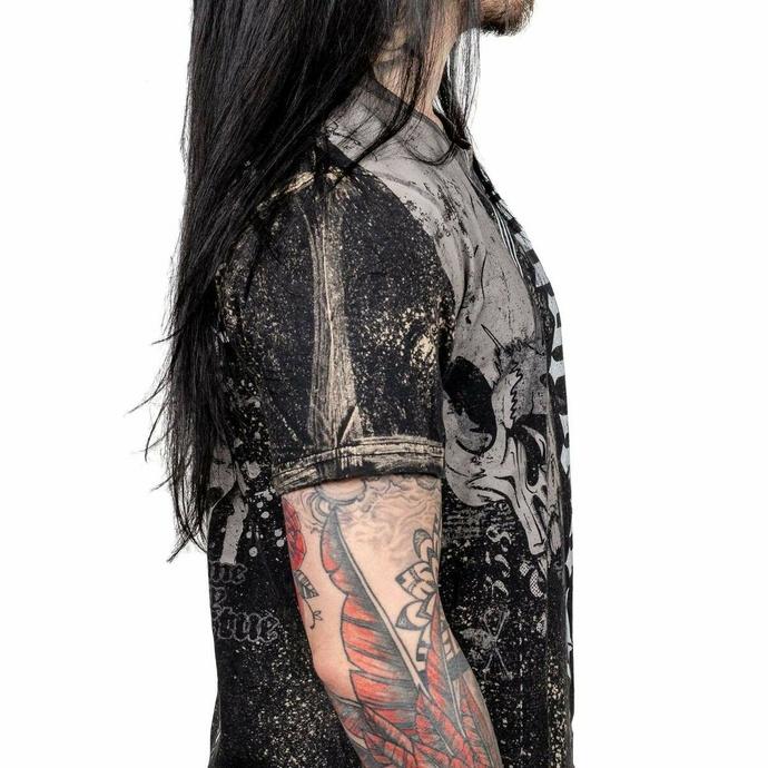 tričko pánské WORNSTAR - Downfall - Black