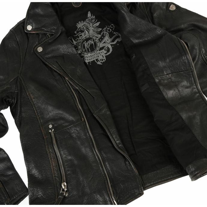 bunda pánská (křivák) Mavric SF NSLV - black