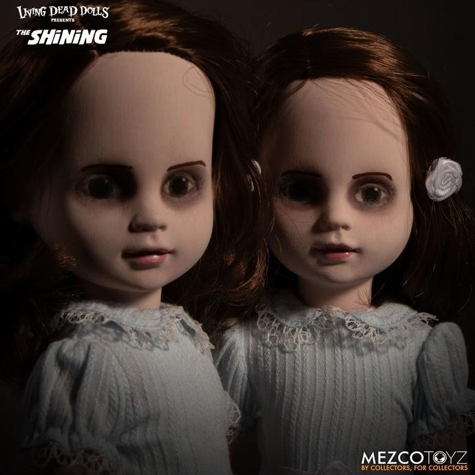 panenka (dekorace) The Shining - Living Dead Dolls - Talking Grady Twins