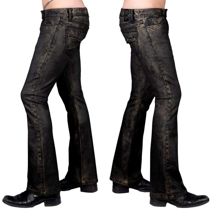 kalhoty pánské WORNSTAR - Hellraiser Coated - Raw Umber