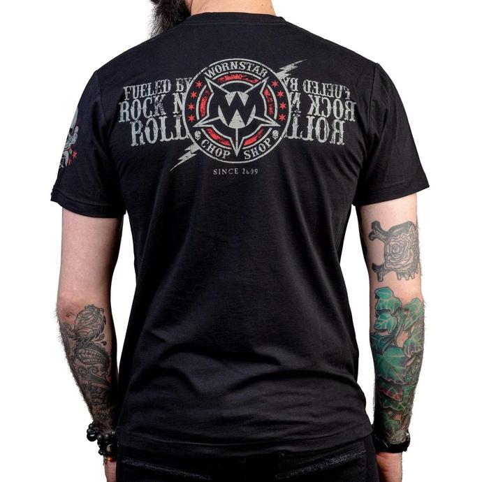 tričko pánské WORNSTAR - Electric