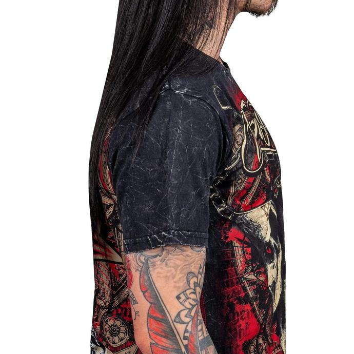 tričko pánské WORNSTAR - Muerte - Black