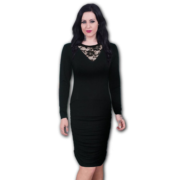 šaty dámské SPIRAL - GOTHIC ELEGANCE