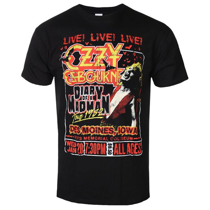 tričko pánské Ozzy Osbourne - Diary Of A Madman Tour - ROCK OFF