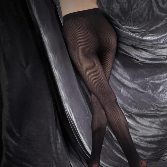 punčocháče LEGWEAR - couture ultimates - the margaret - black
