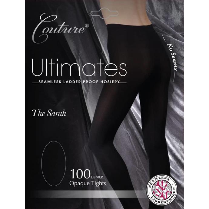 punčocháče LEGWEAR - couture ultimates - the sarah - black