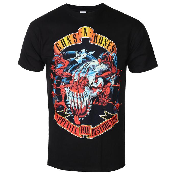 tričko pánské Guns N' Roses - Appetite for destruction - BRAVADO