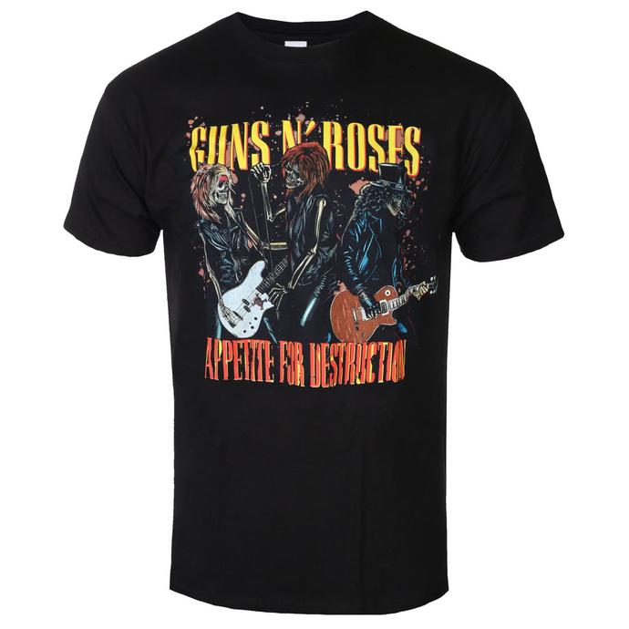 tričko pánské Guns N' Roses - APETITE FOR DESTRUCTION - BRAVADO