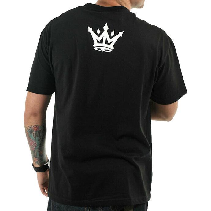 tričko pánské MAFIOSO - GUN PLAY - BLK