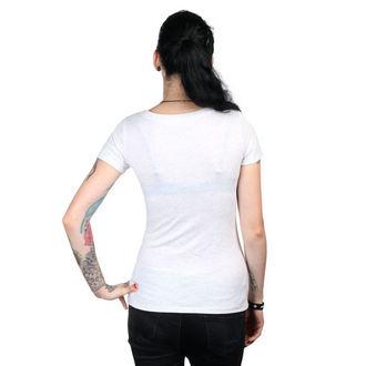 tričko dámské METAL MULISHA - HELMET - WHT
