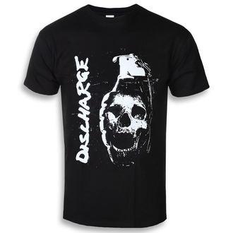 tričko pánské Discharge - Skull Grenade - RAZAMATAZ
