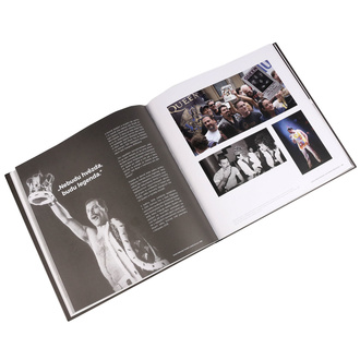 kniha Ikony - Freddie Mercury & Queen