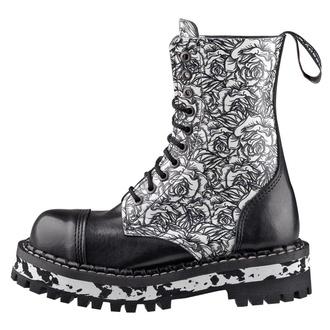 boty STEADY´S - 10 dírkové - Black Rose