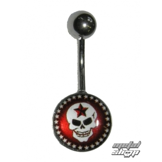 piercingový šperk Lebka - 1PCS - L 090
