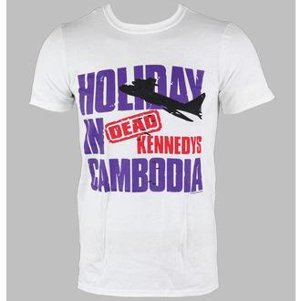 tričko pánské Dead Kennedys - Cambodia - White - LIVE NATION