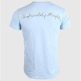 tričko pánské OASIS - DEFINITELY MAYBE - SKY BLUE - LIVE NATION